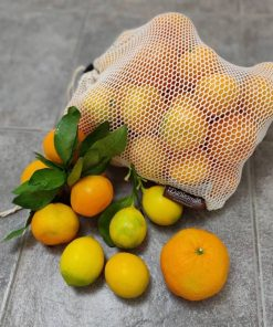 Organic cotton mesh bag Dantesmile for produce