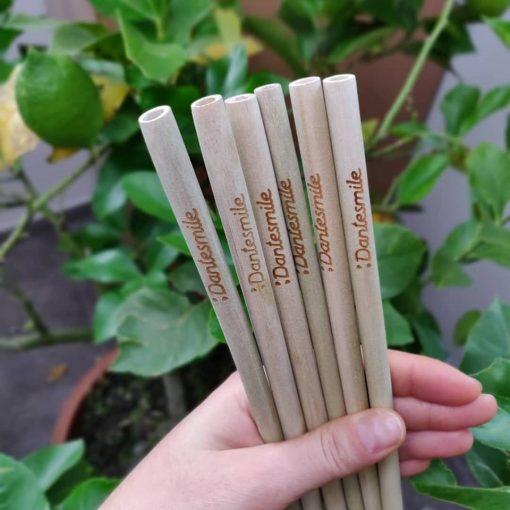 Bamboo straw datesmile