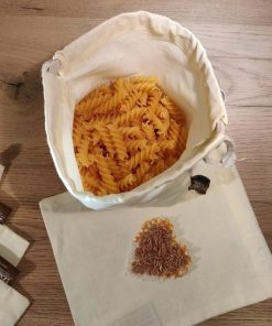 Organic cotton bag for pasta Dantesmile