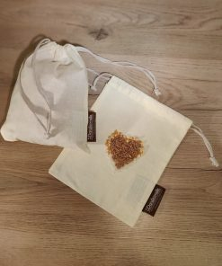 organic cotton muslin bag Dantesmile for produce