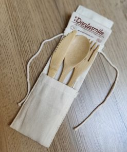 Bamboo cutlery set Dantesmile